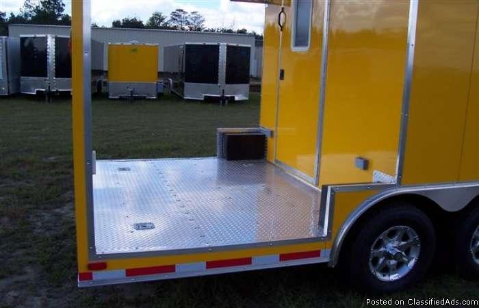Choosy Porch cargo trailer