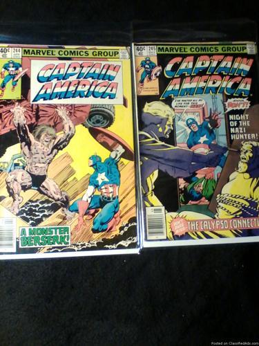 Comic Books: Captain America