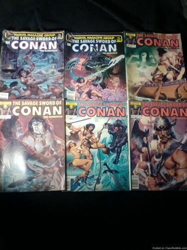Comic Books: Conan The Barbarian