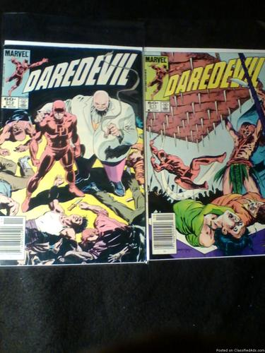 Comic Books: Daredevil