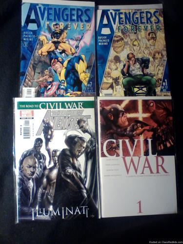 Comic Books: The Avengers