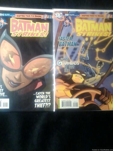 Comic Books: The Batman Strikes!