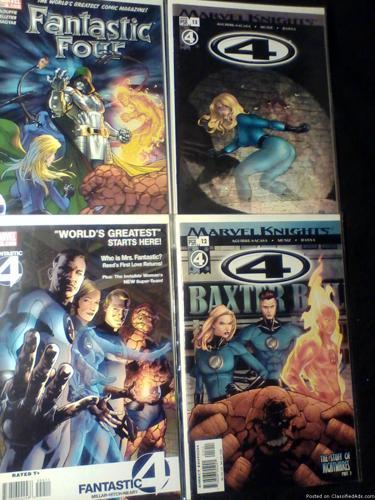 Comic Books: The Fantastic Four