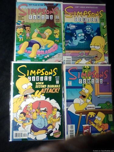 Comic Books: The Simpsons / Futurama