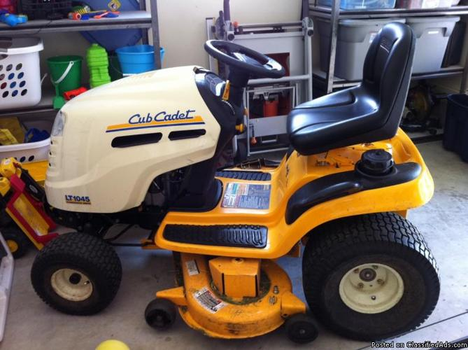 Cub Cadet Riding Lawn Mower Price 1250