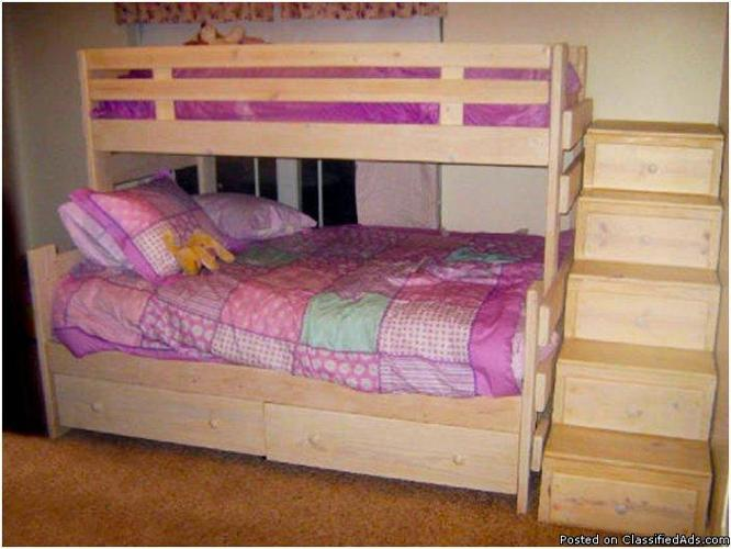 Custom Bunk Beds at Factory Prices - Price: 300.00 for sale in ...