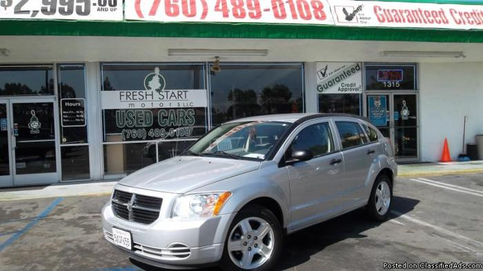 DODGE CALIBER**NEED AFFORDABLE PAYMENTS?** - Price: CALL