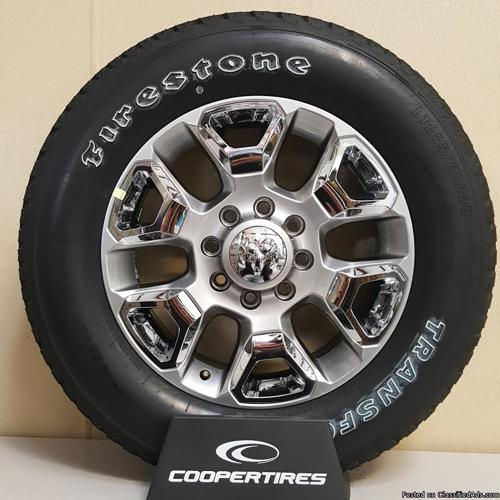 DODGE RAM 2500 WHEELS AND TIRES!!