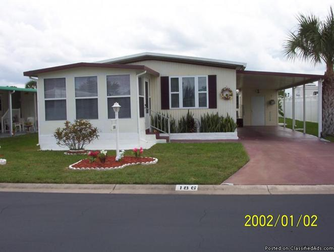 double wide mobile home for sale by owner 55 lamplighter village melbourne fl off john rd