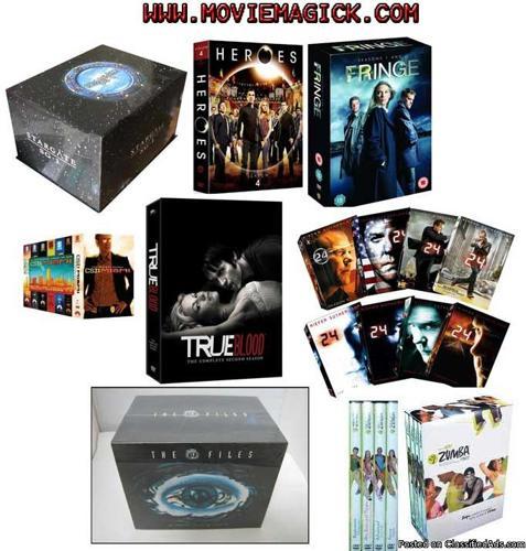 DVD Boxset collection - Price: 40