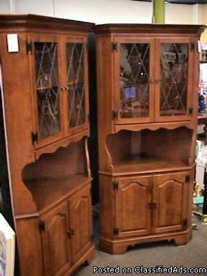Ethan Allen Corner Cabinets Price 375