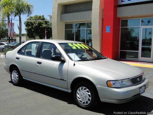 Excellent Condition Nissan Sentra - Low Miles! - Price: 5,990