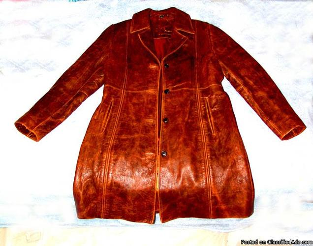 favorite this post Brand New Ladies (Women's) Fashion Genuine Leather Coat Size (L) Large