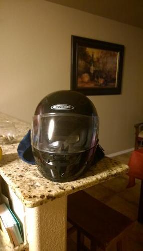 Full Face DOT approved helmet
