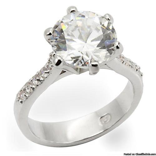 Glamorous Fashion RINGS ! Large Stones Gold Silver CZ Cocktail Rings of all Kinds! - Price: $30 - $150