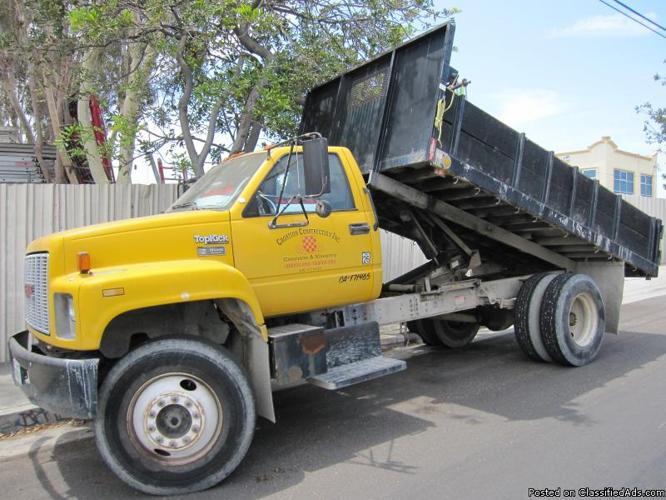 GMC Top Kick Dump Truck with Allison Transmission - Price: $6,500