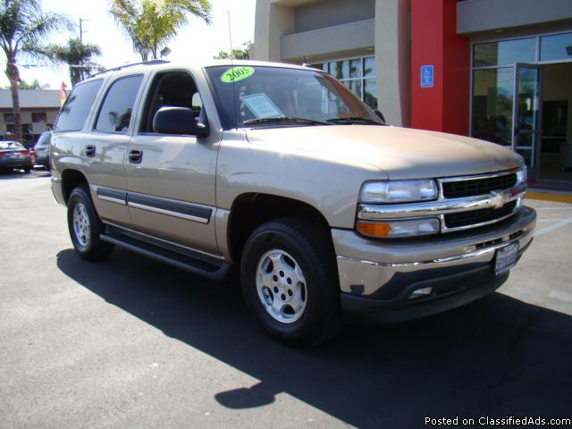 Gold 2005 Chevy Tahoe! - Price: call