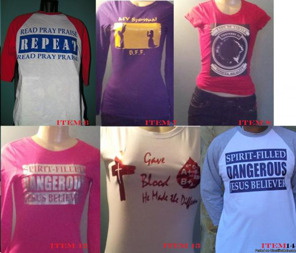 Gospel Reality Wear LLC . Divine Fashions for a blessed lifestyle
