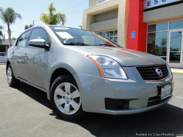 Gray 2007 Nissan Sentra - Low Miles! - Price: call