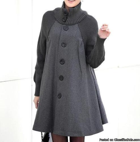 Gray Woolen Jacket for Sale
