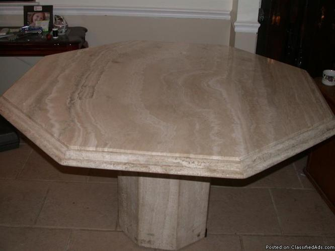 italian marble dining room table hexagon beautiful solid stone table