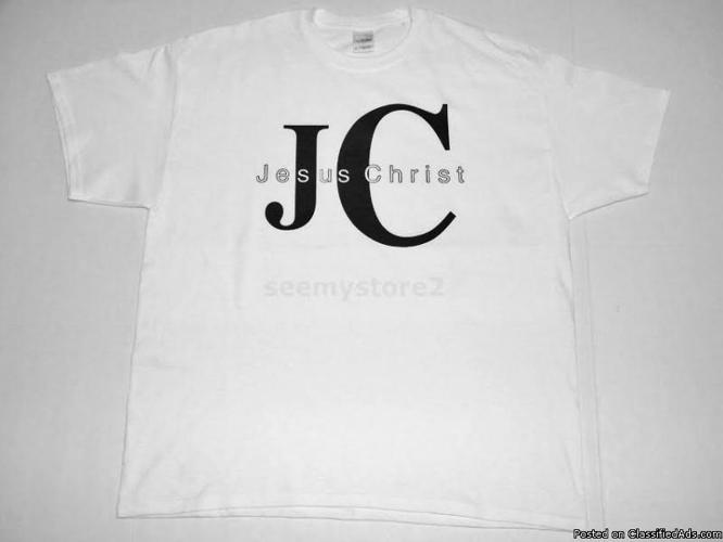 JC JESUS CHRIST CHRISTIAN T SHIRTS