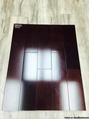 KEMPAS EBONY SOLID HARDWOOD $5.50 sq ft --- GREAT QUALITY!!!