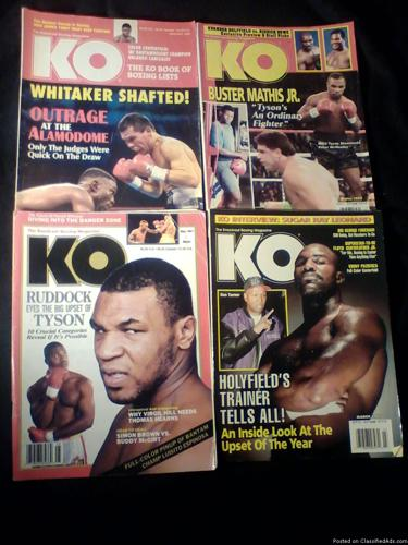 K.O. Boxing Magazine
