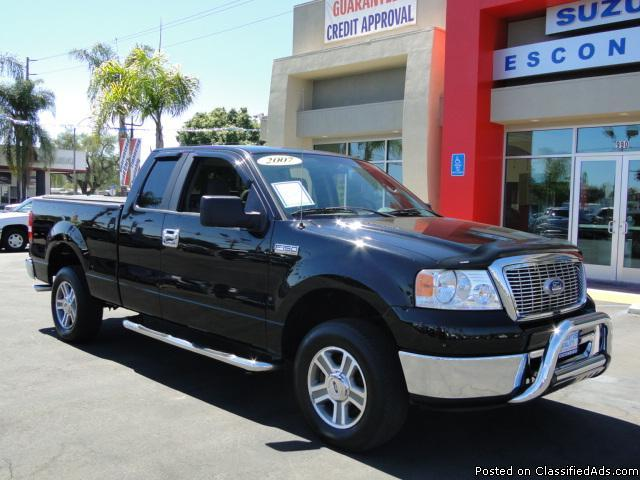 Loaded Black 2007 Ford F150 XLT SuperCab - Eye Candy! - Price: call