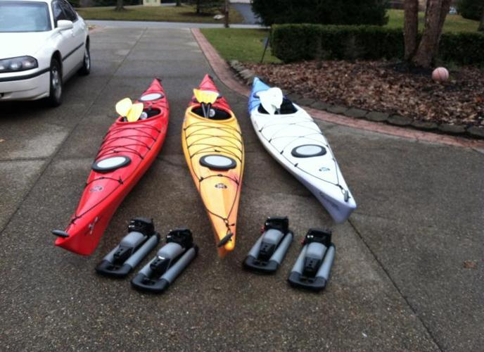 Looking for some summer fun? Kayaks, paddles & racks
