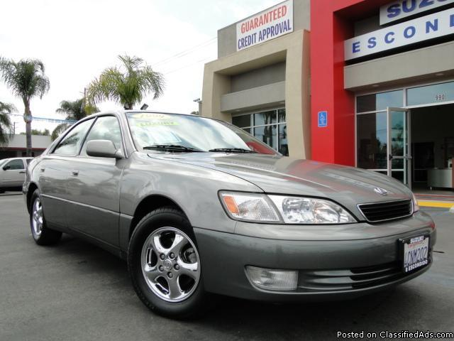 Luxury You Can Afford - 99 Lexus ES 300! - Price: call
