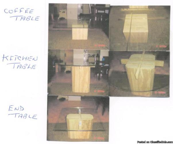 Marble table set - Price: 500.00