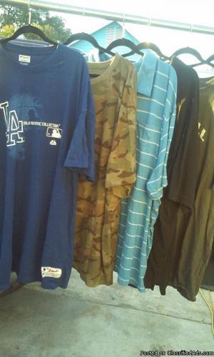 mens 6xl shirt lot