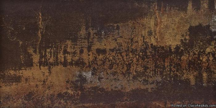 Metallica Brown 12x24 Tile -- 96 sq ft --- $4.50 -- NEED TO SELL ASAP