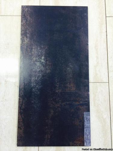 Metallica Dark Blue 12x24 Tile -- 480 sq ft -- $4.50 sq ft --- NEED TO SELL ASAP