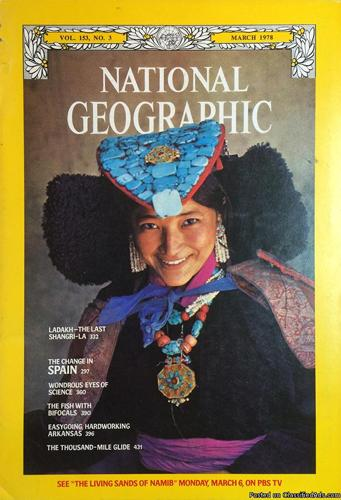 National Geographic mags