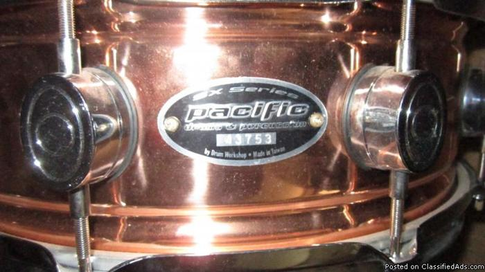 Pacific SX Snare Drum - Price: $200.00