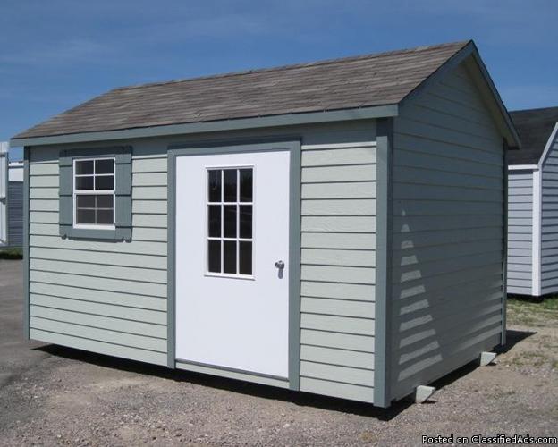 portable storage building liquidation sale cash discounts and rent
