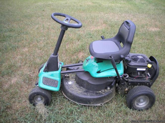 weed eater lawn tractor. riding lawn mower weedeater-one 26-inch 190cc briggs \u0026 stratton 875 series - weed eater tractor