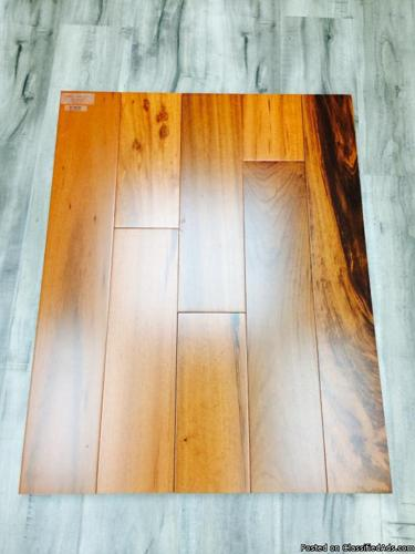 SOLID TIGERWOOD HARDWOOD $7.38 sq ft --- GREAT QUALITY!!!