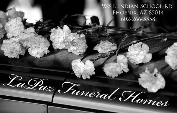 Spanish and English Funeral Services in Phoenix, Traditional and Non-Denominational Services.