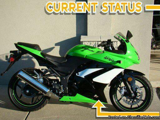 Special Edition Ninja Kawasaki 250