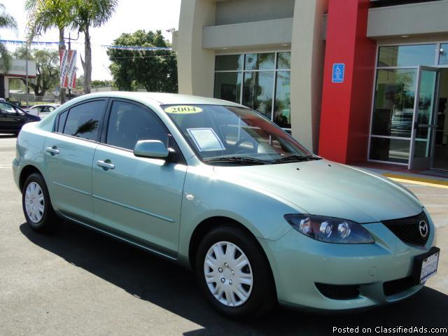 Sporty Gas-Saving 2004 Mazda3! - Price: call
