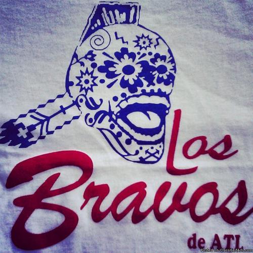 T-Shirt: Los Bravos de ATL