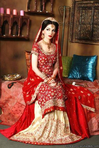 The Classic Bridal Saree