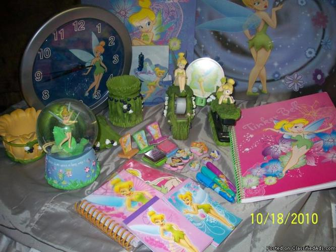 Tinkerbell Office Accessories - Price: $30.00