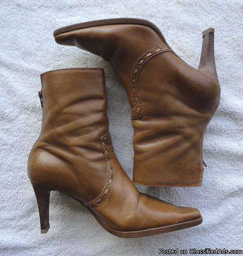 Unisa womens mid-calf leather boots