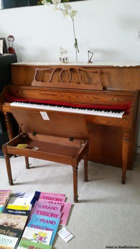 Upright Acoustic Piano Yamaha For Sale