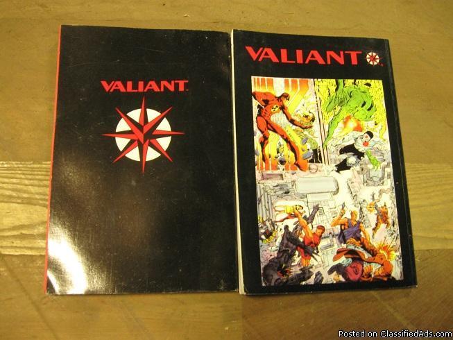 Valiant Comic Books