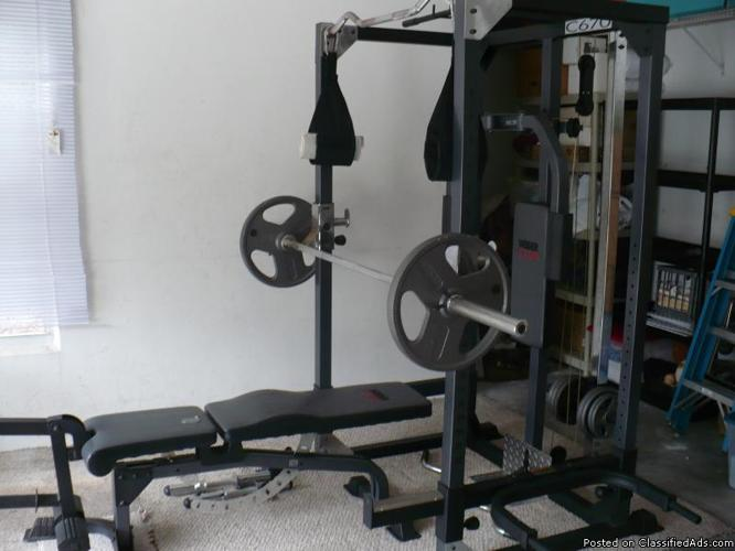 Weider Club C670 Home Gym Price 32500 For Sale In Port Orange